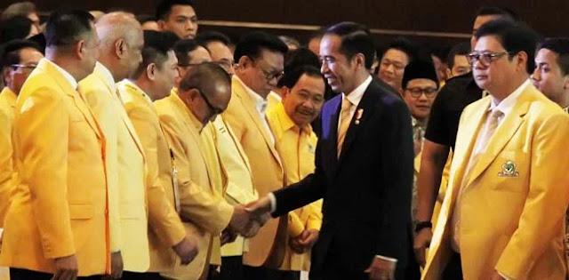 Di HUT Golkar, Jokowi Ingatkan yang Pengalaman Belum Tentu Menang