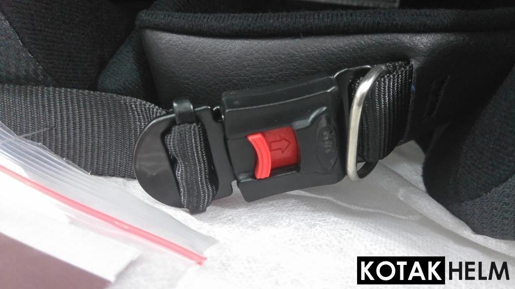 Tali pengikat helm KYT RC7 dan R10