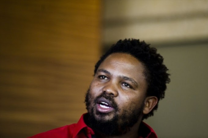 """When we get the land, we will plant enough rice and beef for everyone"" -Andile Mngxitama"