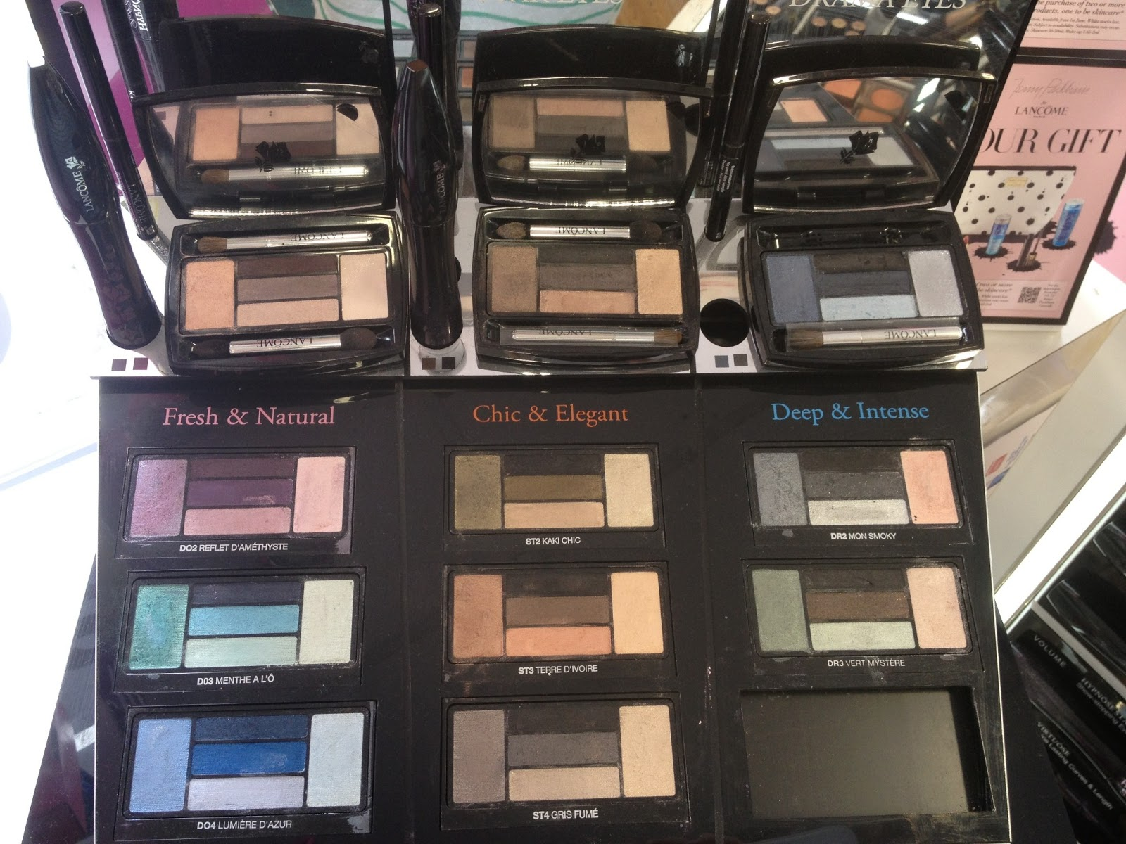 5e8ac98dd55 The new Lancome Hypnose Eye Palettes are broken into three styles, Doll Eyes,  Drama Eyes and Star Eyes There are 12 palette to choose from in this range  and ...