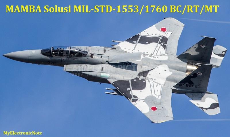 MAMBA Solusi MIL-STD-1553/1760