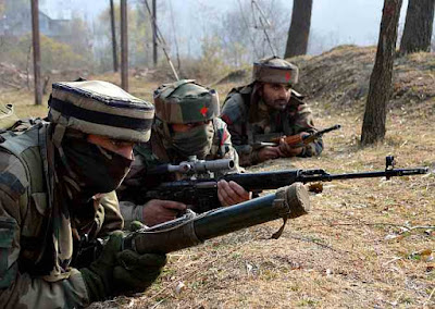 Soldiers in Jammu & Kashmir #Uri attack
