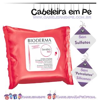 Sensibio H2O Lenços Micelares Dermatológicos - Bioderma (Sem Sulfatos, Sem Petrolatos e Sem Silicones)