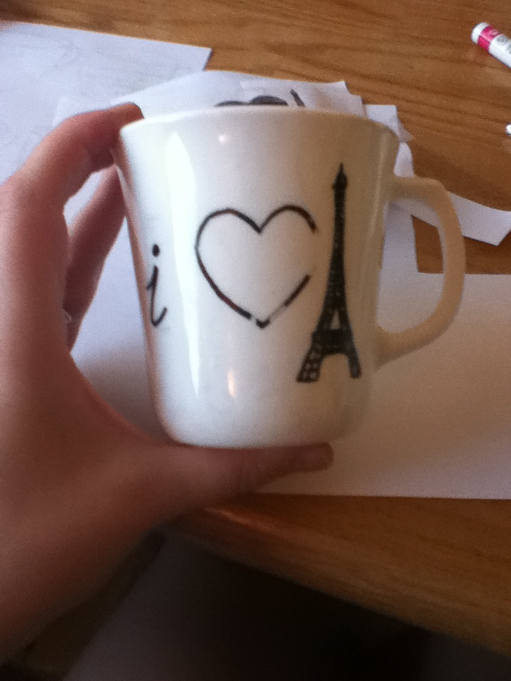 Tutorial Dishwasher Safe Sharpie Mugs Scribbles From Emily