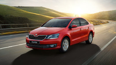 2017 Skoda Rapid Monte Carlo Front side live image