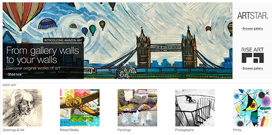 Amazon Art is shockingly sloppy, dated, lacks professionalism & financially risky
