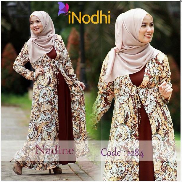 10 Contoh Baju Muslim Syar I Model Baru 2015 Contoh Model Baju
