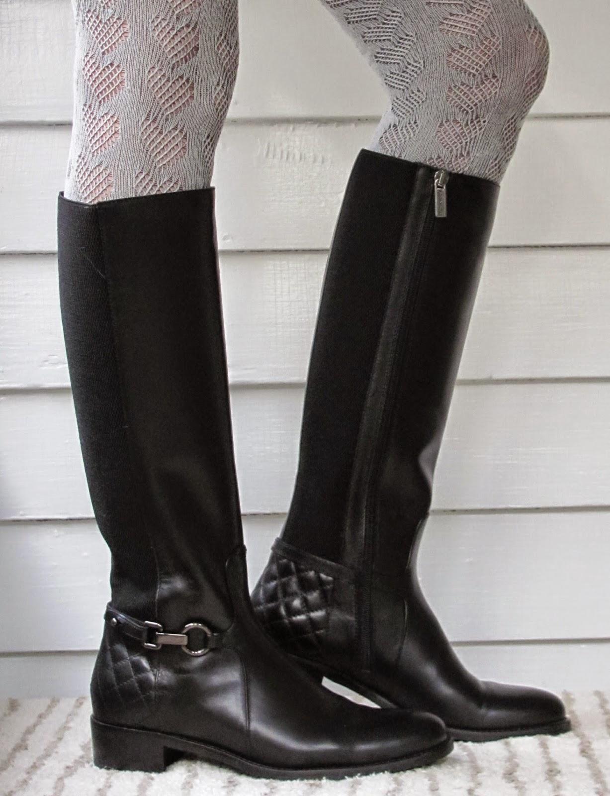 Howdy Slim Riding Boots For Thin Calves Aquatalia Oralie