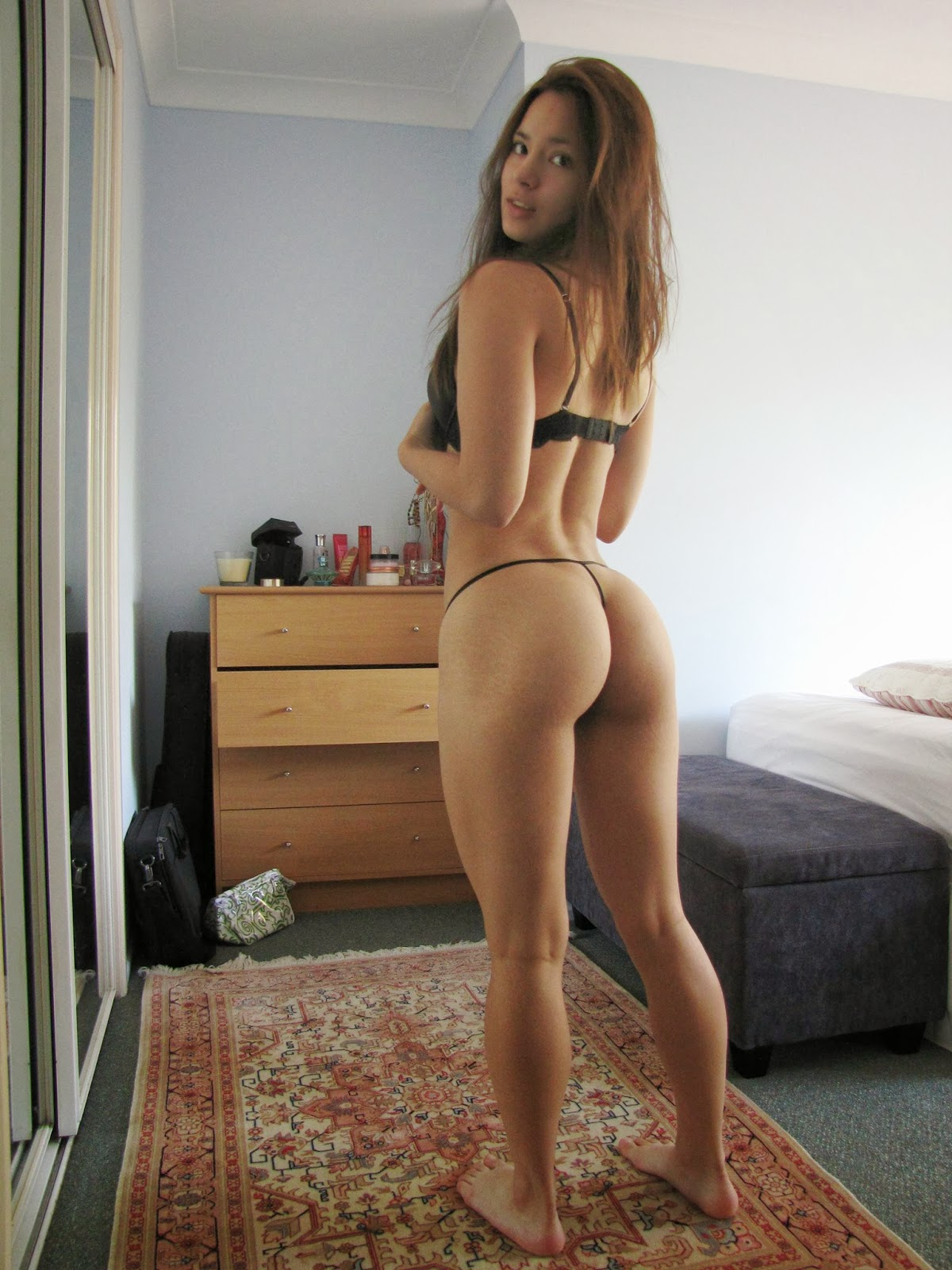 Sexy Teen Girl Butt
