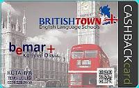 BritishTown bemar+ Lyoness Cashback Card karta