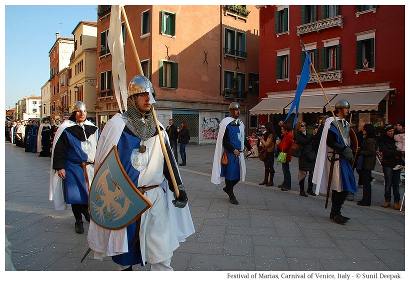 Festival of Marias during Carnival of Venice, Italy - © Images by Sunil Deepak