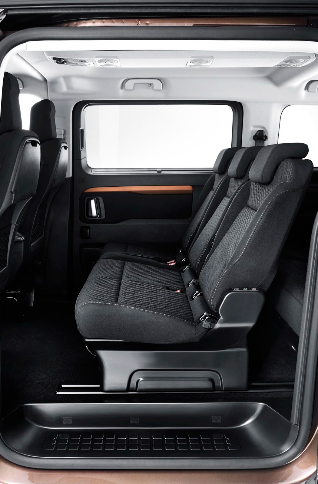 Cars With 3 Rows Of Seats >> New Toyota Proace Verso MPV Detailed, Offers Seating For Up To Nine [w/Video] | Carscoops