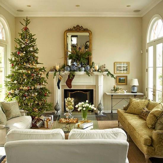 sala navideña