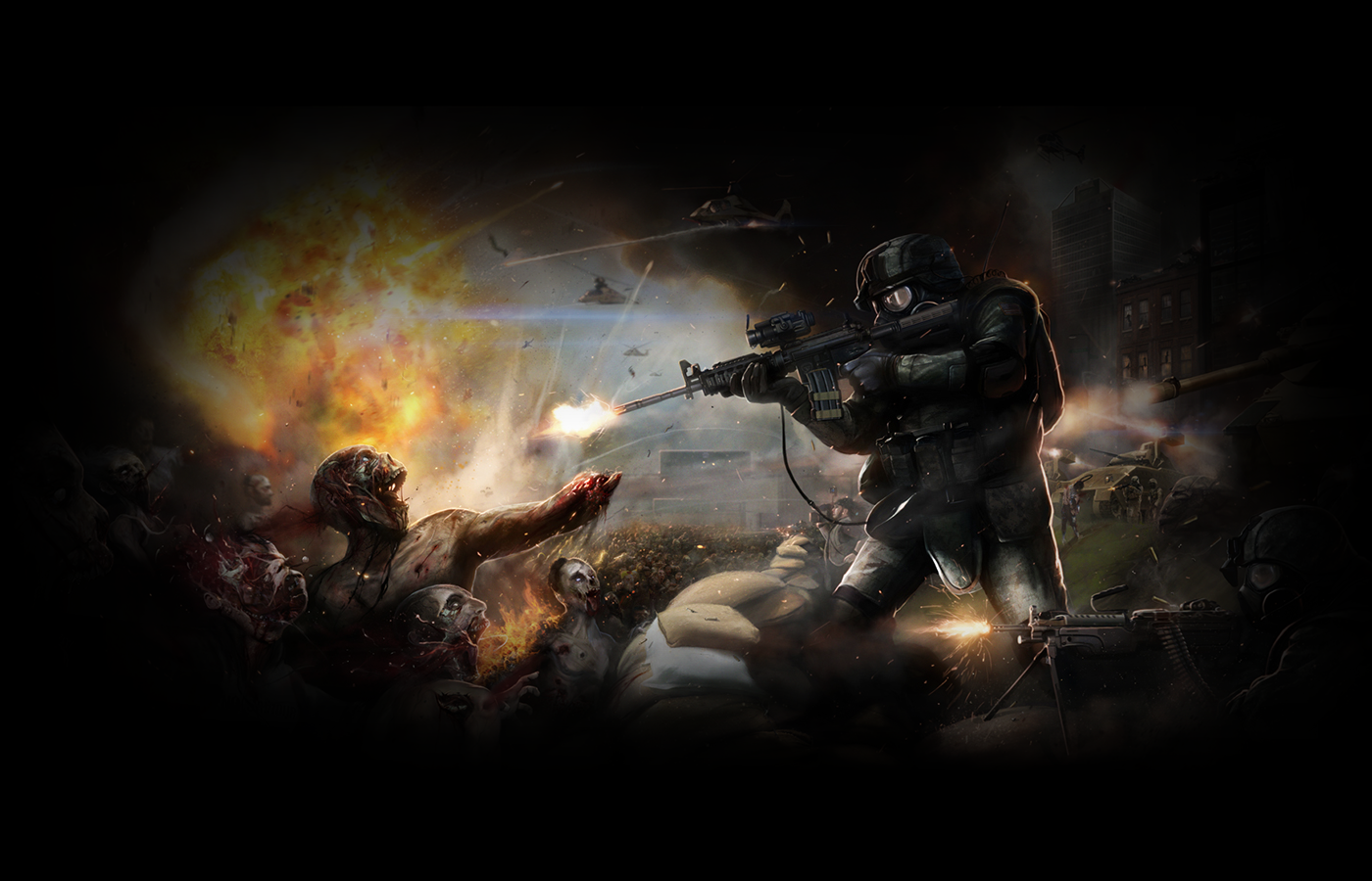 List Nation Wallpapers: Zombie Wallpapers #1