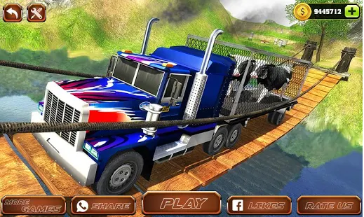 Offroad Farm Animal Truck Driving Game 2018 1.2.apk