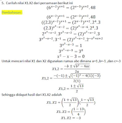 Rumus Dan Contoh Soal Matematika Soal Dan Pembahasan