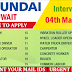 KUWAIT HYUNDAI JOB RECRUITMENT 2017 | APPLY NOW