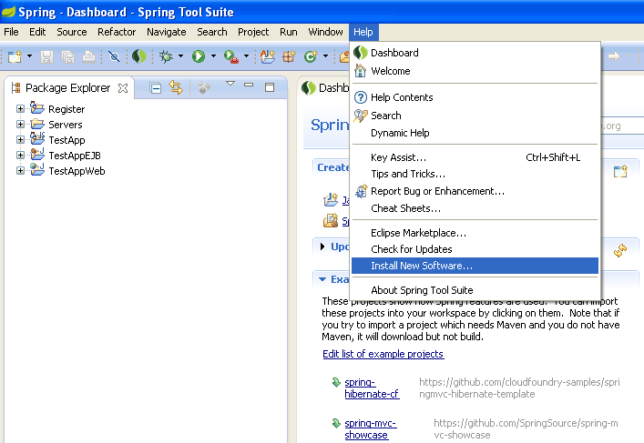 How to add SVN plugin to STS or Eclipse | Amith's Tech Point