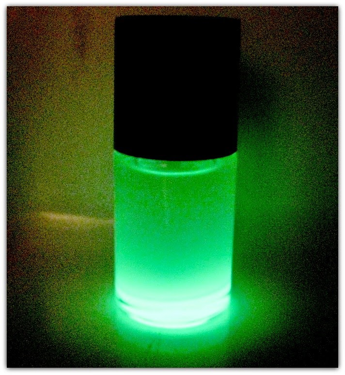 Glow-in-the-dark nail polish.