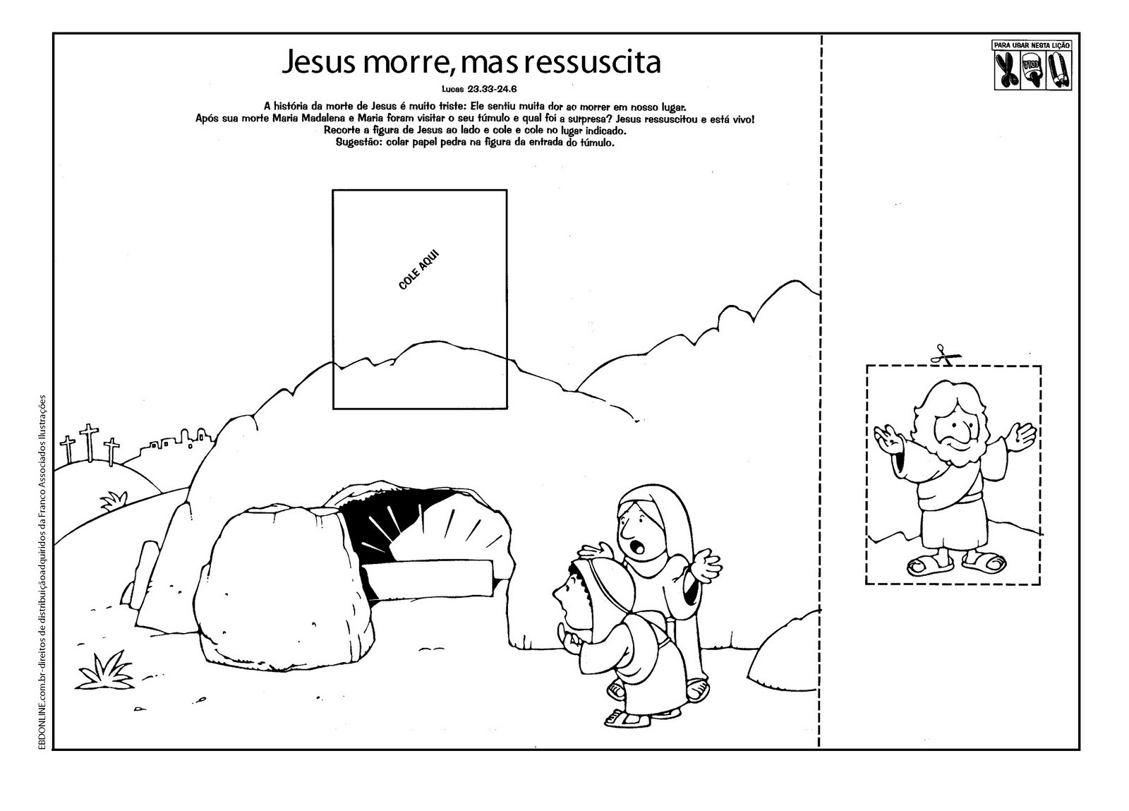 Plano De Aula Para A Pascoa Crista Muitas Atividades Espaco