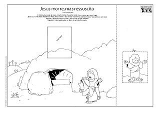 Resultado de imagem para atividades da pascoa de jesus