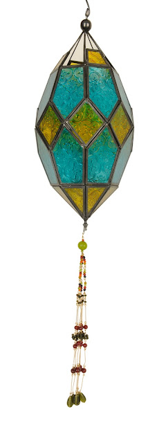 Metal & Glass Mosaic Lantern MRP Rs. 1290