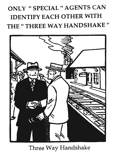 three way handshake cartoon
