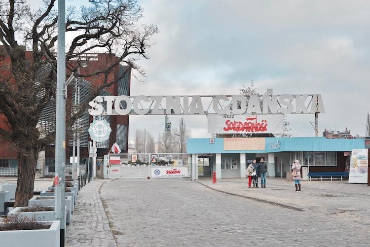 Historyczna Brama nr 2 Stoczni Gdańskiej, Gdańsk ECS