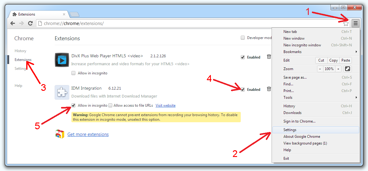 idm integration extension for chrome free download