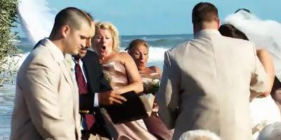 Δείτε προσεκτικά τι θα συμβεί στην τελετή γάμου! Το όνειρο έγινε εφιάλτης [photos]