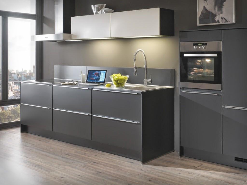 cuisine grise magnifique pour votre maison cuisine grise. Black Bedroom Furniture Sets. Home Design Ideas
