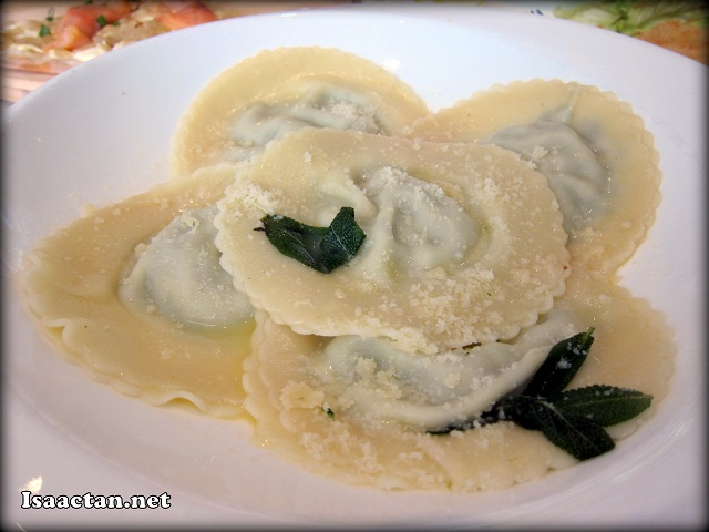 #4 Spinach and Ricotta Ravioli - RM28.80