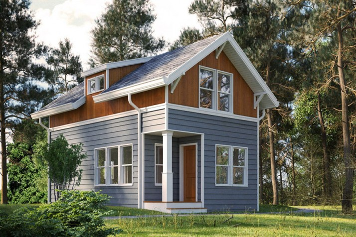 Modular home builder seattle s greenfab homes delivers a for Backyard cottage seattle