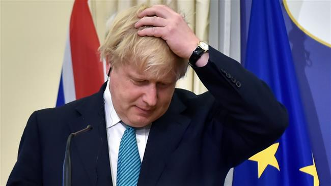 British Foreign Secretary Boris Johnson breaks ranks with Theresa May over Brexit