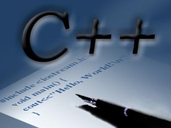 contoh gambar logo program C++