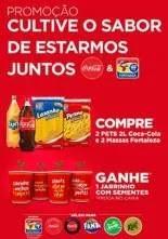 Promoção Coca-Cola e Fortaleza Massas Ganhe 1 Jarrinho com Semente