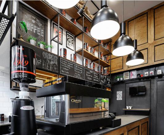 Desain  Interior Caf  Kopi  Minimalis Vitobele