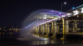 Wisata Korea Selatan - Banpo Bridge