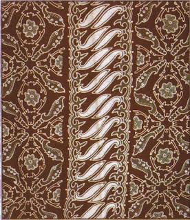 Batik Bogor Motif Kujang Kijang