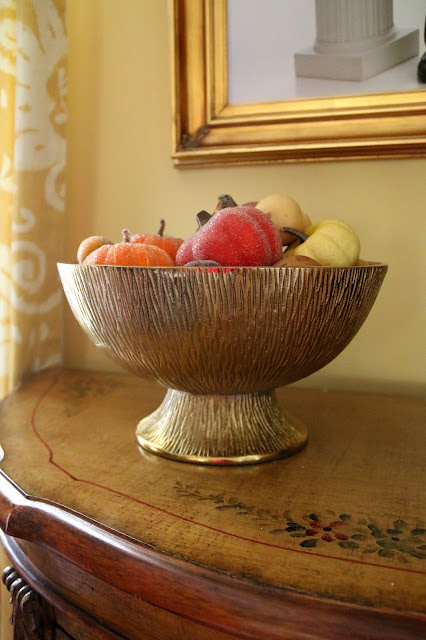 Gold Bowl with Fruit, Still Life