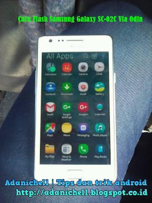 Cara Flash Samsung Galaxy SC-02C Via Odin