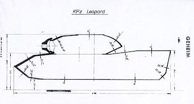 Tank Archives: Leopard Armour Schematics