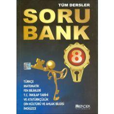 Mercek 8.Sınıf Tüm Dersler Soru Bankası