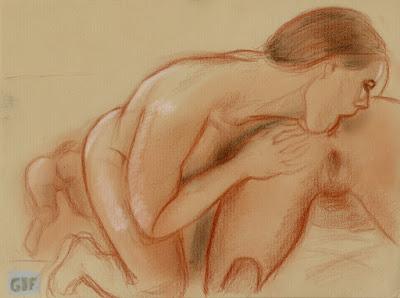 dessin pornographique lesbiennes se léchant le cul