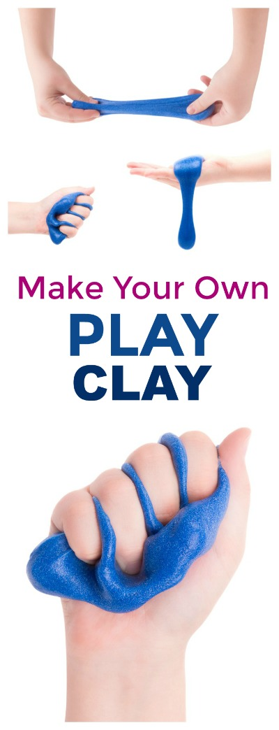 2-INGREDIENT MODELING CLAY FOR KIDS (Easy recipe!) #playrecipesforkids #playrecipes #plaaydoughrecipe #clayrecipe #modelingclay #artsandcraftsforkids