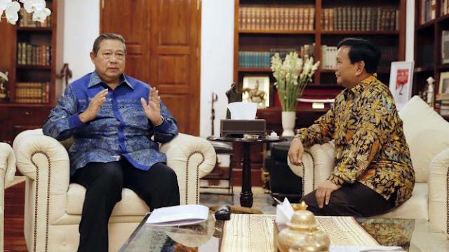 Dianggap Main Dua Kaki, SBY Bakal Ketemu Prabowo