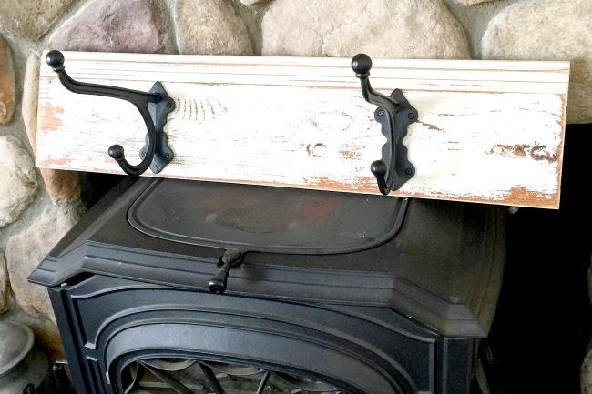 Reclaimed Wood Hook Rack