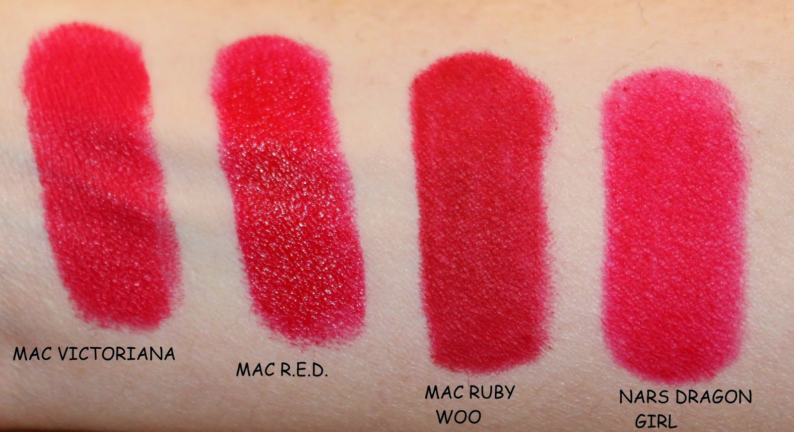 mac victoriana swatches