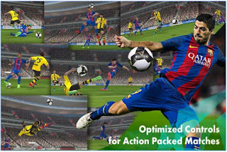 Screenshot Game Pro Evolution Soccer 2017