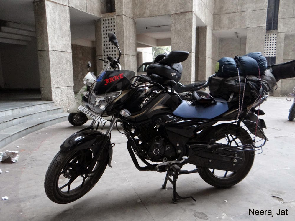 Delhi to Jaipur bike trip